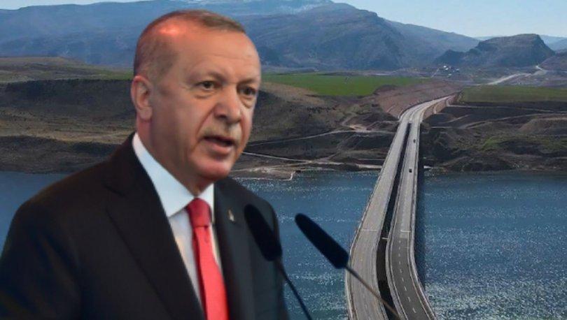 Son dakika! Cumhurbaşkanı Erdoğan Hasankeyf-2 köprüsünü açıyor! Erdoğan'dan önemli açıklamalar