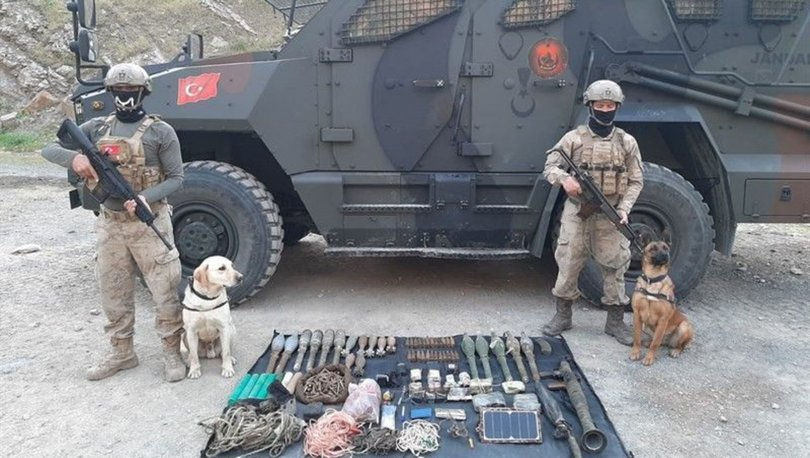 Çukurca'da terör örgütü PKK'ya darbe: Çok sayıda silah ve mühimmat ele geçirildi
