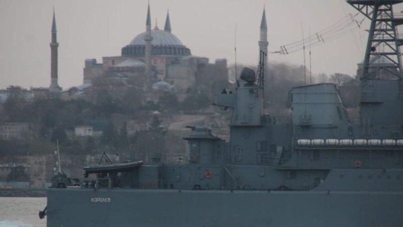 Son Dakika: İstanbul'da hareketli saatler! 2 Rus savaş gemisi Boğaziçi'nde... - Haberler
