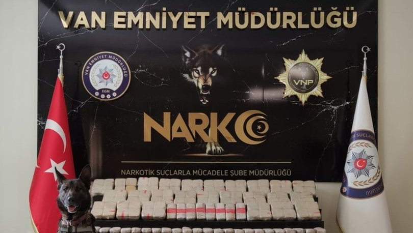 Van ve Düzce polisinin ortaklaşa düzenledikleri operasyonda 102 kilo 690 gram eroin ele geçirildi