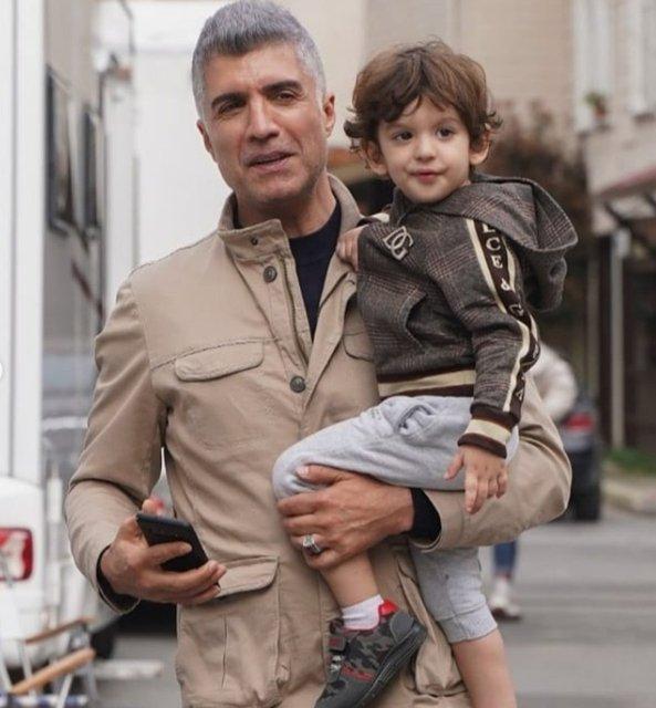 Özcan Deniz oğlu Kuzey ile fotoğraflarını paylaştı: Babam! - Magazin haberleri