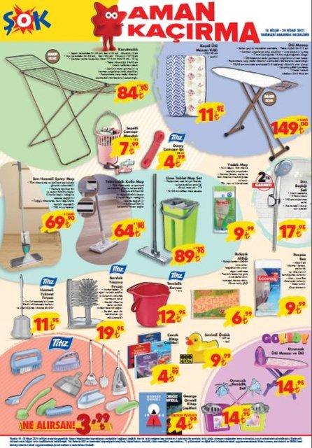 ŞOK 16-20 Nisan 2021 Aktüel Ürünler Kataloğu: Bu hafta ŞOK indirimli ürünler listesinde neler var?
