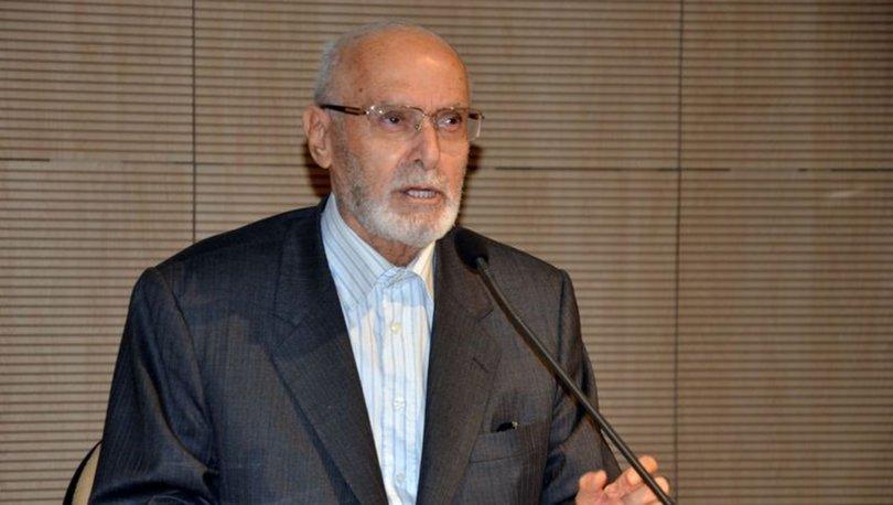 Haberler... Yazar ve akademisyen Prof. Dr. Ali Özek hayatını kaybetti! Prof. Dr. Ali Özek kimdir?