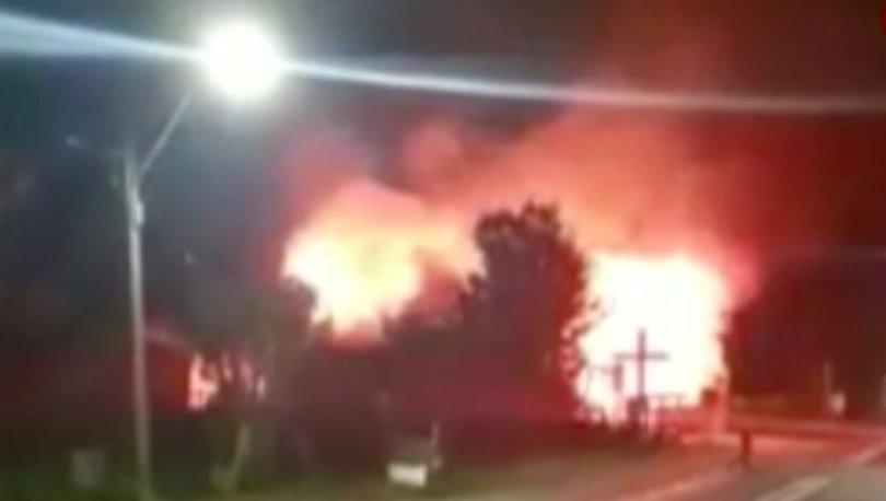 SON DAKİKA: Şili'de bir kilise yakıldı! - Haberler