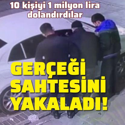 İstanbul'da sahte polisler 10 kişiyi 1 milyon lira dolandırdı