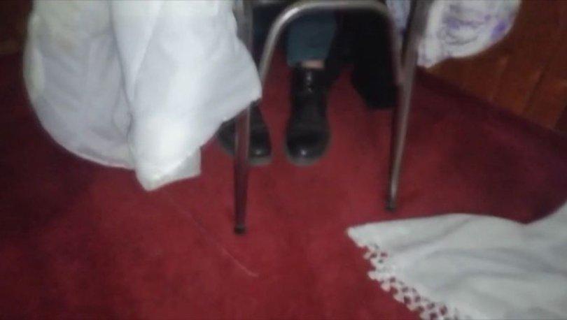 Kumar baskını! Son dakika: Ayakları açıkta kaldı, polisten kaçamadı
