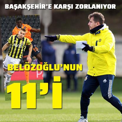 Rakip Başakşehir! Emre Belözoğlu'nun 11'i...