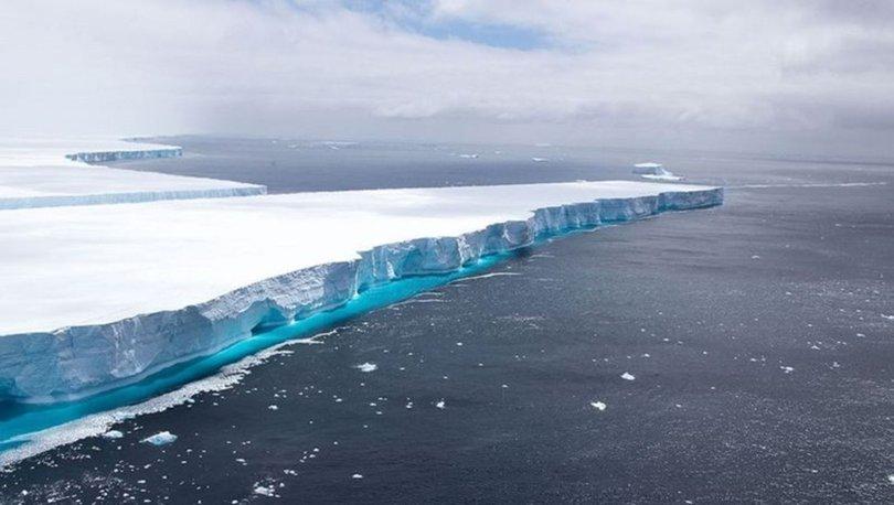 ERİDİ! Son dakika... A68 buzul dağı eriyerek yok oldu