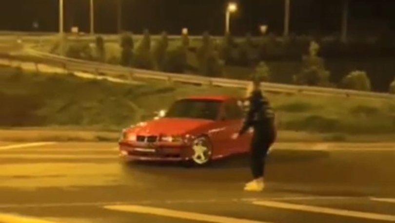 DRİFT | Son dakika: Kız arkadaşının etrafında drift yaptı! - Haberler
