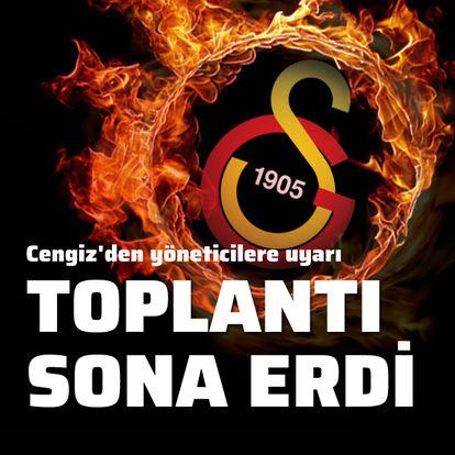 Galatasaray'da birlik, beraberlik mesajı