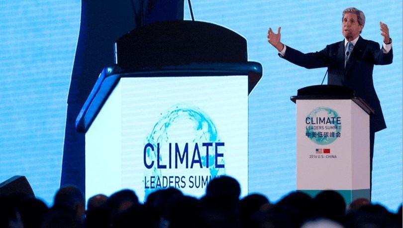 ABD ve Çin'den ''iklim değişikliğiyle mücadelede ortaklık'' mesajı