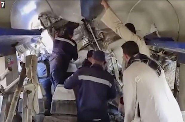 Mısır'da tren kazası: Ölü ve yaralılar var
