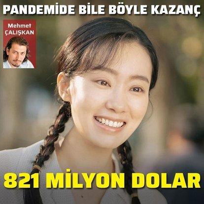 821 milyon dolar hasılat