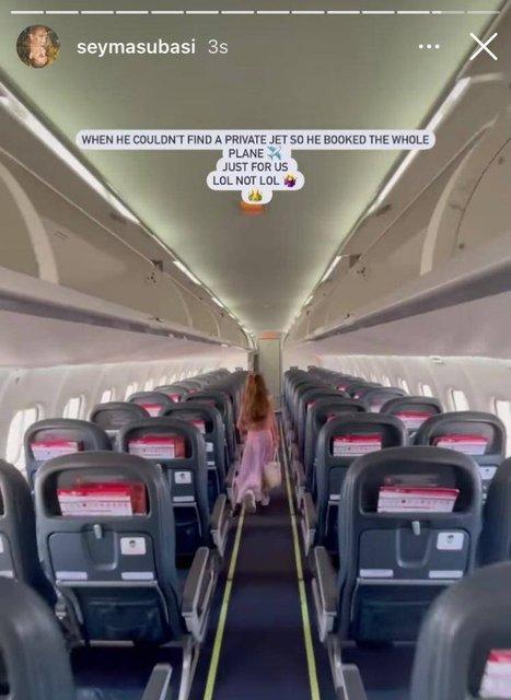 PAYLAŞTI! Son dakika: Şeyma Subaşı'nın sevgilisi uçak kapattı - Magazin Haberleri