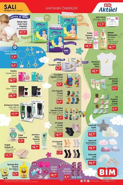 BİM 23 Nisan 2021 kataloğu: BİM'de bu hafta neler var? Yeni haftanın BİM aktüel ürünler kataloğu