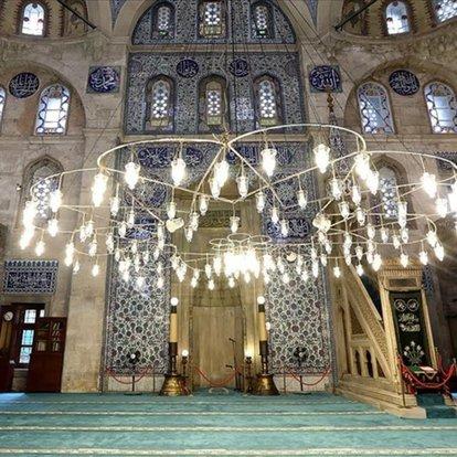 'Cennetten' gelen parçalar Sokullu Mehmet Paşa Camisi'nde