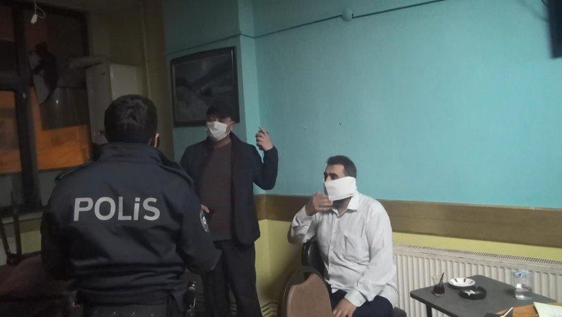 BÖYLE YAKALANDI! Son dakika: Esenyurt'ta denetimlere takıldılar! Tuvalet kağıdını maske yaptı