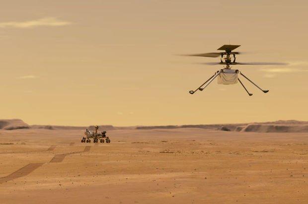 NASA duyurdu: Mars'a tarihi uçuş!