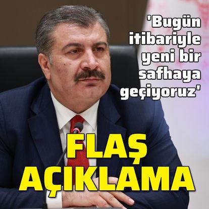 Sağlık Bakanı Fahrettin Koca: Aşılamada sıra 55 yaşından büyüklere geldi - Haberler