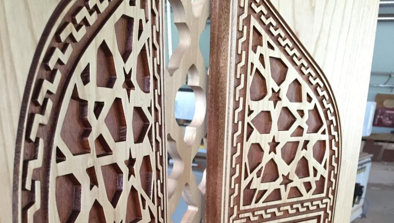 Çoruh Üniversitesi Mobilya ve Dekorasyon Bölümü'nden tarihi hizmet