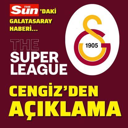 Galatasaray'dan Avrupa Süper Ligi açıklaması