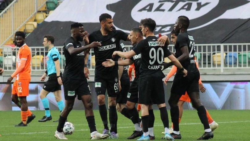 Altay: 4 - Adanaspor: 1