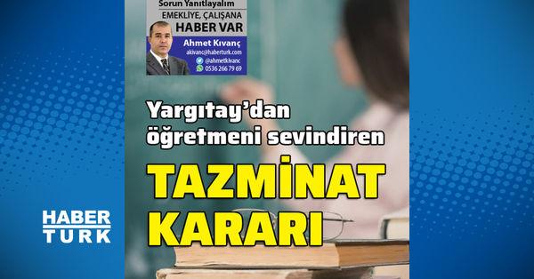 Öğretmeni sevindiren Yargıtay kararı