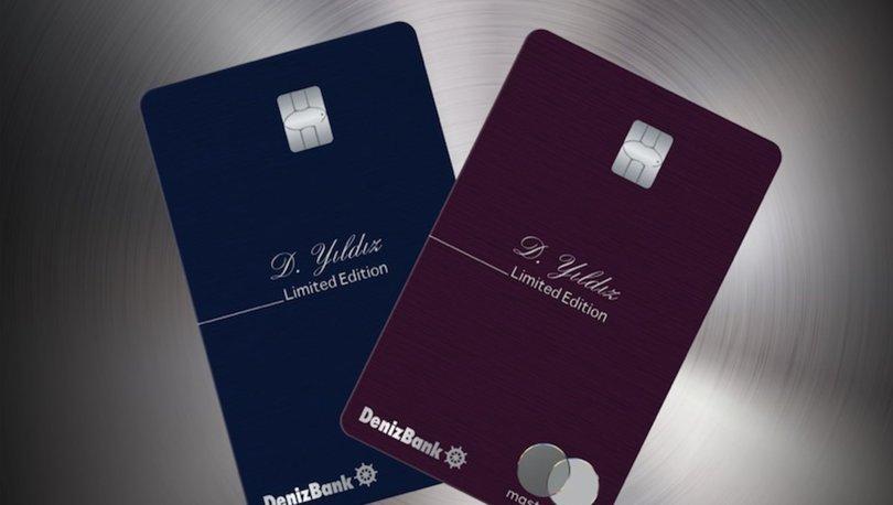 Denizbank ilk metal kredi kartını kullanıma sundu