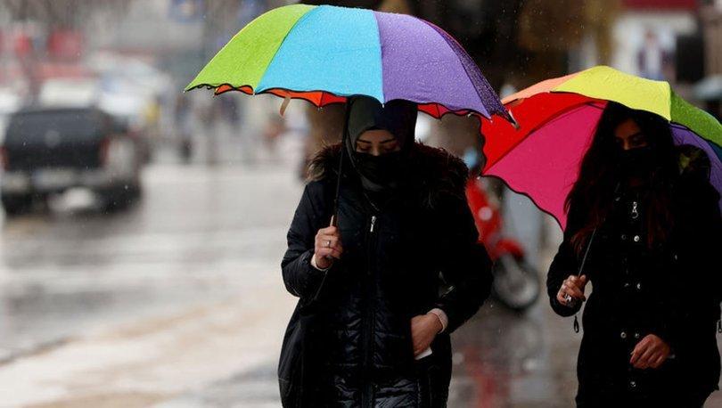 YILDIRIM! Son dakika HAVA DURUMU: 3 bölge için sağanak yağmur uyarısı