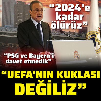 """""""UEFA'nın kuklası değiliz"""""""