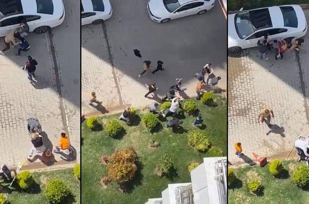 Çocukların kavgasında mahalle karıştı