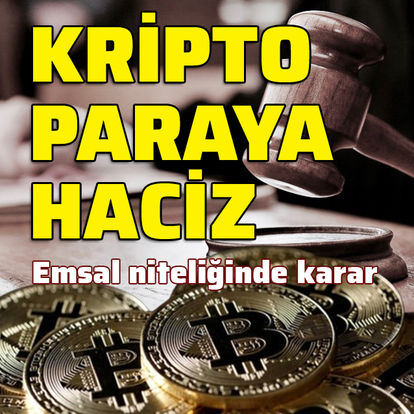 Kripto paraya haciz