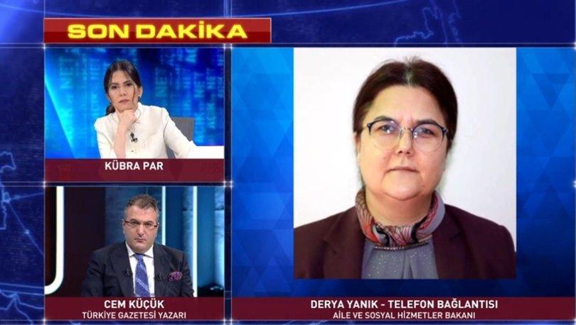 Aile ve Sosyal Hizmetler Bakanı Derya Yanık, ilk kez Habertürk TV'ye konuştu - VİDEO