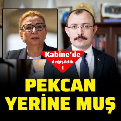 Ticaret Bakanı değişti