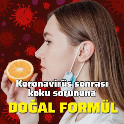 Koronavirüs sonrası koku sorununa doğal formül