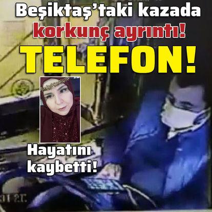 Otobüs kazasında korkunç ayrıntı! Telefon!
