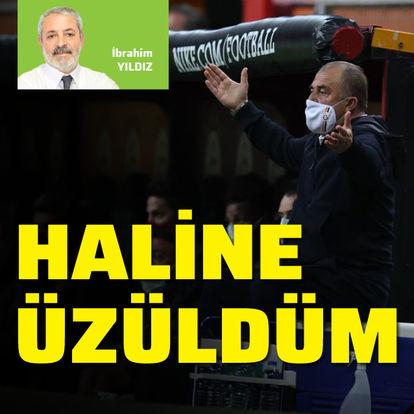 """""""Fatih Terim'in haline üzüldüm"""""""
