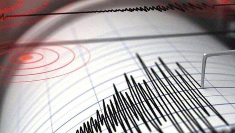 SON DAKİKA Balıkesir'de 3.9 büyüklüğünde deprem!