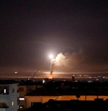 Suriye topraklarından İsrail'e füze saldırısı