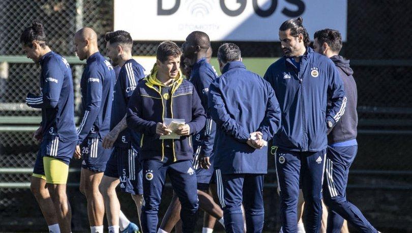 Fenerbahçe'de Kasımpaşa hazırlıklarına devam etti