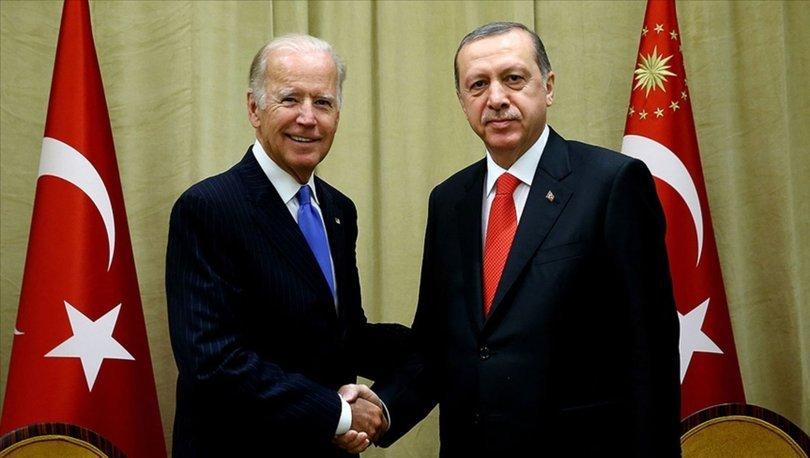 ABD Başkanı Joe Biden, Cumhurbaşkanı Recep Tayyip Erdoğan'ı aradı