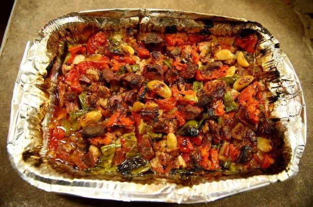 Kayseri'de iftar sofralarının ana yemeği