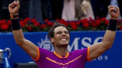 Nadal, Barcelona Açık'ta kupaya uzandı