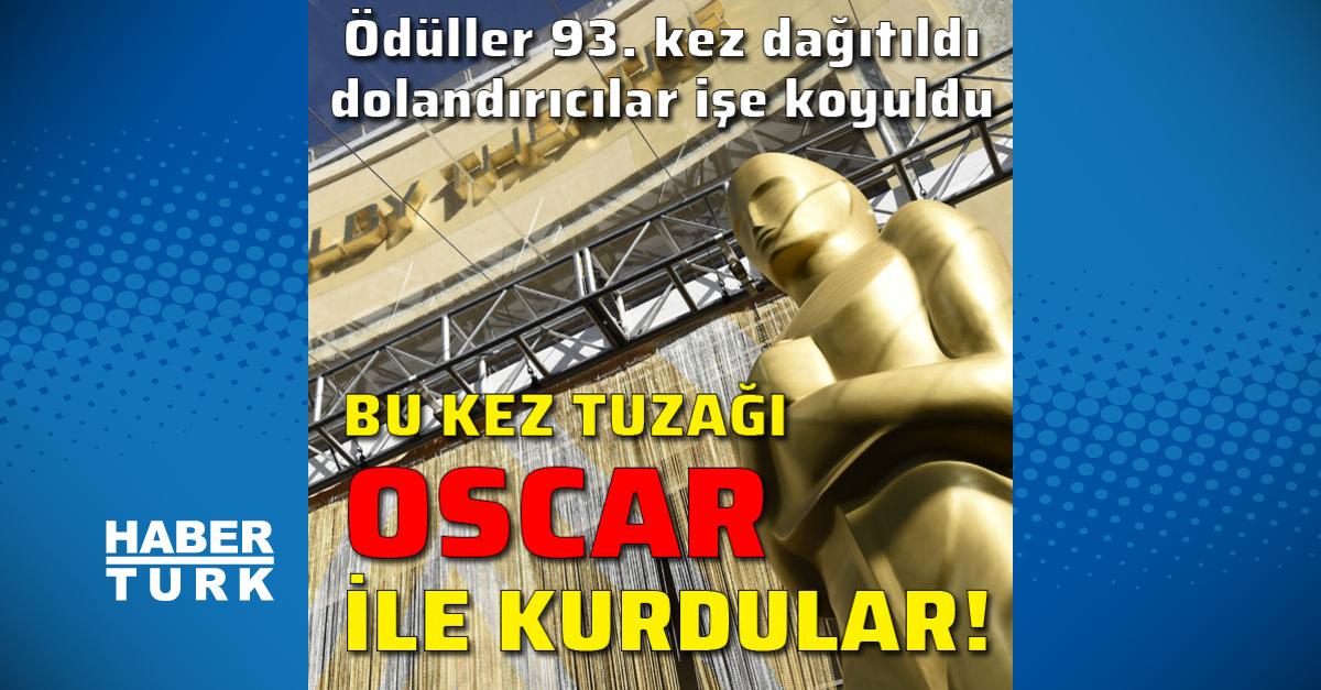 Bu kez tuzağı Oscar ile kurdular!