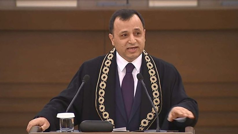 AYM Başkanı Arslan'dan kuruluş yıl dönümü mesajı