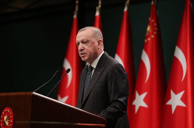 Cumhurbaşkanı Erdoğan: Bayram sonuna kadar tam kapanmaya geçiyoruz