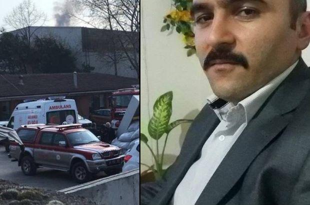 Fabrikadaki patlamada yaralanan işçiden acı haber
