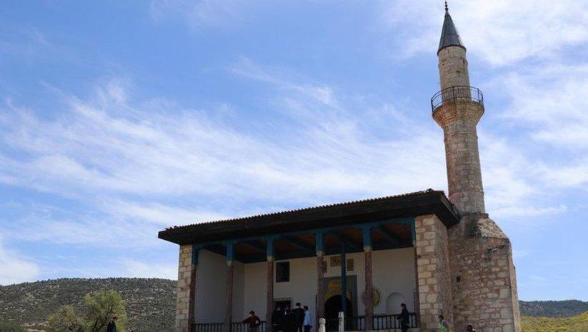 Antik kentin 6 asırlık camisinde restorasyon tamamlandı