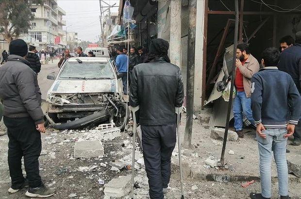 Suriye'nin Cerablus ilçesinde eş zamanlı bombalı saldırılar