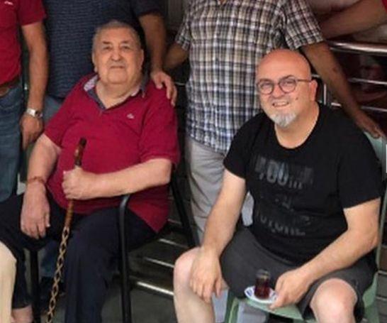 Birol Güven ile babası Erdoğan Güven